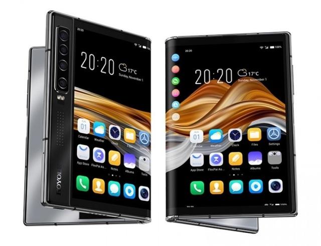 Đối thủ đáng gờm của Galaxy Z Fold2 5G- Royole FlexPai 2 trình làng - 1