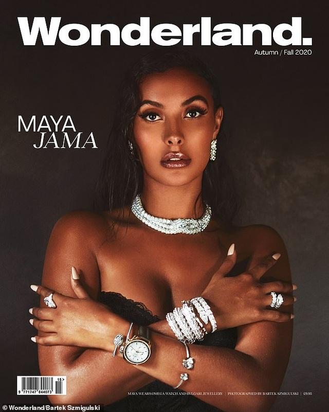 Nhan sắc gợi cảm của MC Maya Jama - 8
