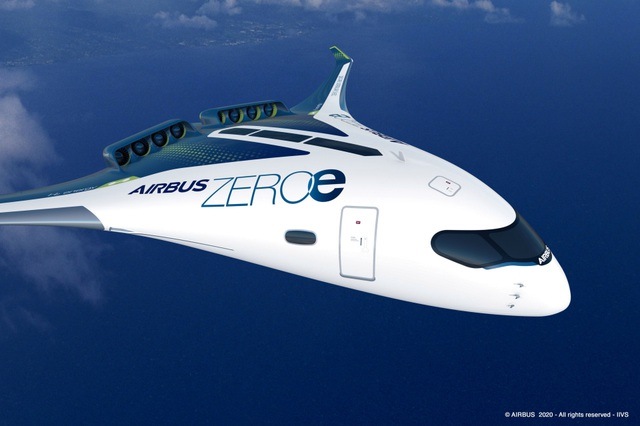 Hãng Airbus tiết lộ kế hoạch sản xuất máy bay phát thải bằng 0 - 2