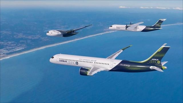 Hãng Airbus tiết lộ kế hoạch sản xuất máy bay phát thải bằng 0 - 3