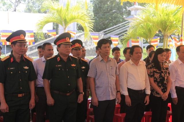 Lễ tri ân các anh hùng, liệt sĩ tại Đền tưởng niệm Trường Sơn- Bến Tắt - 2