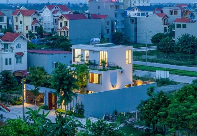 Mãn nhãn với ngôi nhà đẹp như ốc đảo xanh ở Ninh Bình - 1