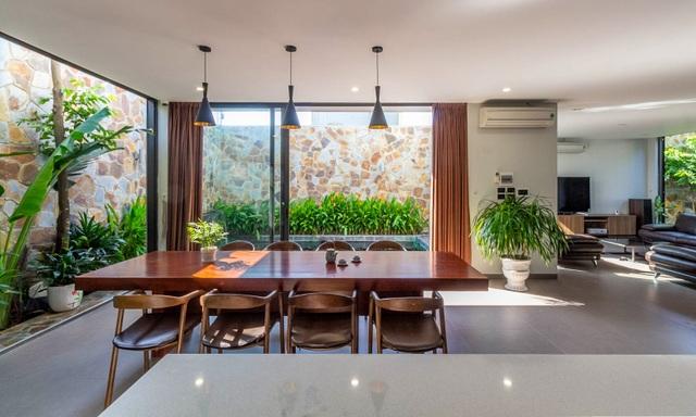 Mãn nhãn với ngôi nhà đẹp như ốc đảo xanh ở Ninh Bình - 9