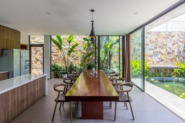Mãn nhãn với ngôi nhà đẹp như ốc đảo xanh ở Ninh Bình - 7