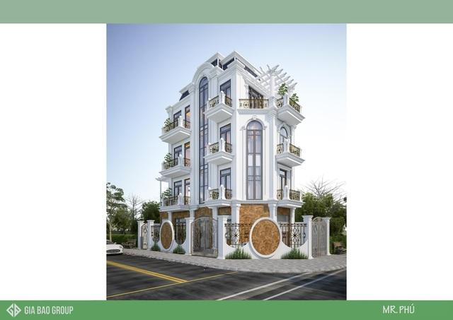 Thiết kế nhà phố 2 mặt tiền và những ưu điểm tuyệt vời - 2