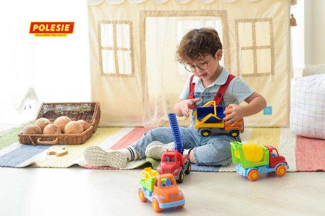 Cha mẹ thông thái lựa chọn đồ chơi Polesie nhập khẩu Châu Âu - 2