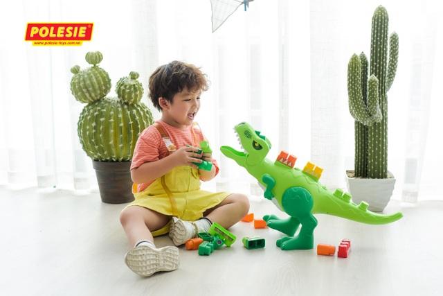 Cha mẹ thông thái lựa chọn đồ chơi Polesie nhập khẩu Châu Âu - 3
