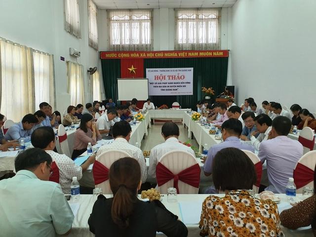 Quảng Nam: Đẩy mạnh giải pháp giảm nghèo bền vững cho đồng bào miền núi - 1