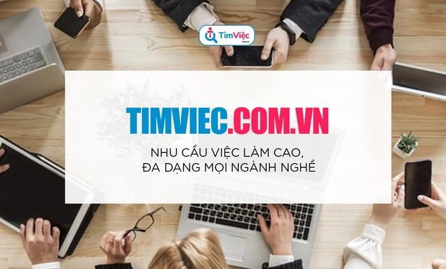 Timviec.com.vn giúp sinh viên mới ra trường tìm việc lương cao - 5