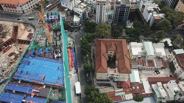 TPHCM chỉ đạo khẩn vụ xây cao ốc làm lún nền, nứt tường bảo tàng - 1