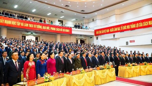 Khai mạc Đại hội Đại biểu Đảng bộ tỉnh Nam Định lần thứ XX - 3