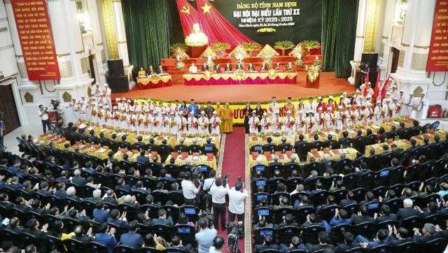 Bế mạc Đại hội đại biểu Đảng bộ tỉnh Nam Định lần thứ XX - 1