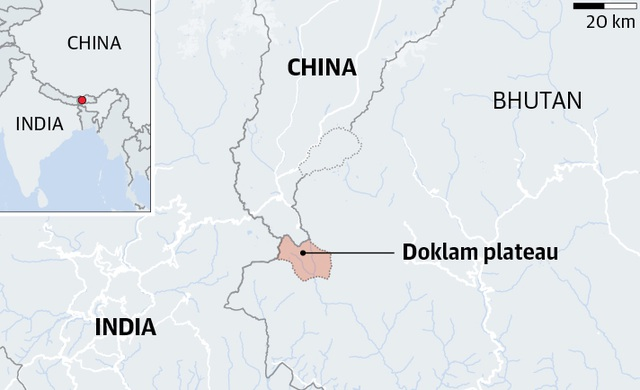 Trung Quốc có thể đã xây thêm 13 cơ sở quân sự sát biên giới Ấn Độ - 2