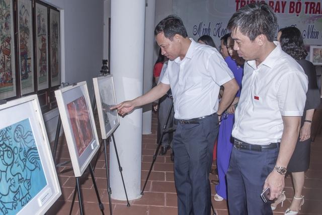Triển lãm tranh minh họa Truyện Kiều và các ấn phẩm của Nguyễn Du - 4