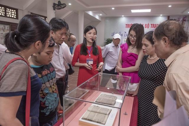 Triển lãm tranh minh họa Truyện Kiều và các ấn phẩm của Nguyễn Du - 3