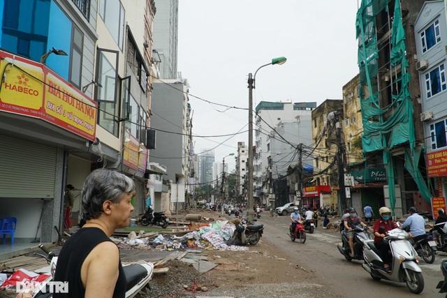 Hà Nội: Hơn 400 mét đường ì ạch thi công gần 3 năm chưa xong - 2