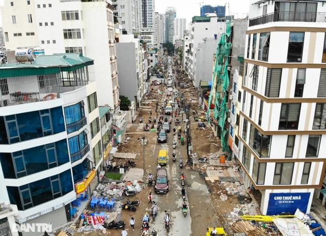 Hà Nội: Hơn 400 mét đường ì ạch thi công gần 3 năm chưa xong - 3