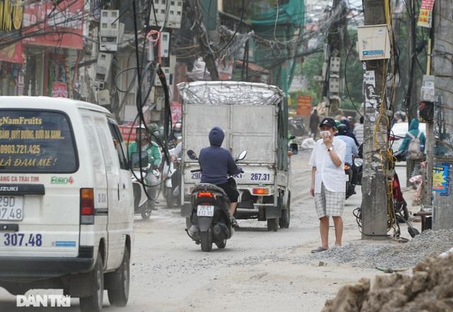 Hà Nội: Hơn 400 mét đường ì ạch thi công gần 3 năm chưa xong - 7