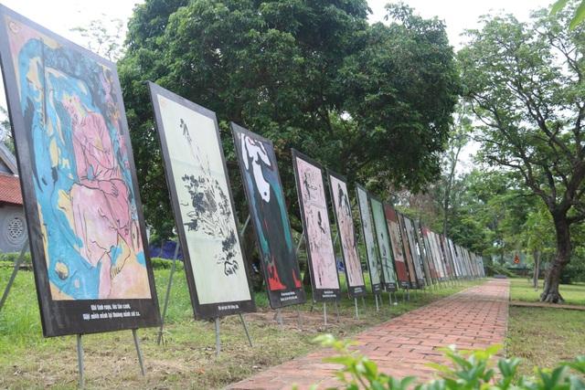 Triển lãm tranh minh họa Truyện Kiều và các ấn phẩm của Nguyễn Du - 1