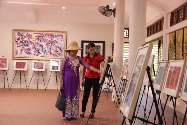 Triển lãm tranh minh họa Truyện Kiều và các ấn phẩm của Nguyễn Du - 5