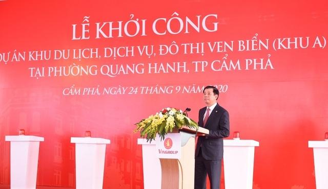 Vingroup khởi công khu du lịch, dịch vụ, đô thị ven biển Quang Hanh - 3