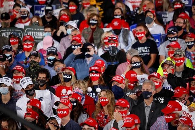 """Những """"chiến binh đỏ"""" ủng hộ Tổng thống Trump tái tranh cử - 6"""