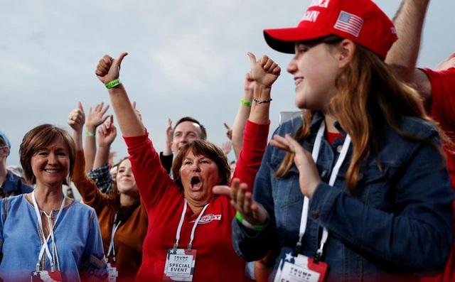 """Những """"chiến binh đỏ"""" ủng hộ Tổng thống Trump tái tranh cử - 7"""