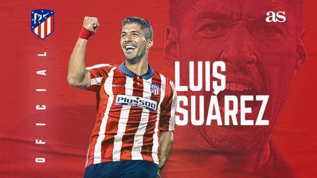 Luis Suarez chính thức gia nhập Atletico với giá 6 triệu euro - 1