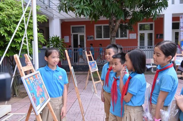 Trẻ em thỏa sức sáng tạo cùng cuộc thi vẽ tranh quốc tế Toyota Chiếc ô tô mơ ước - 3