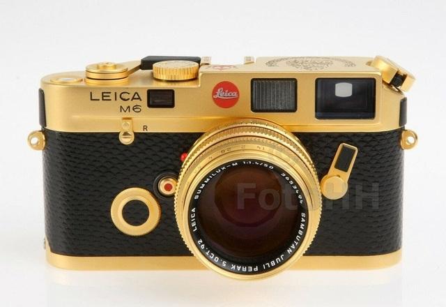 Máy ảnh Leica M6 mạ vàng có giá quy đổi gần 700 triệu đồng - 2