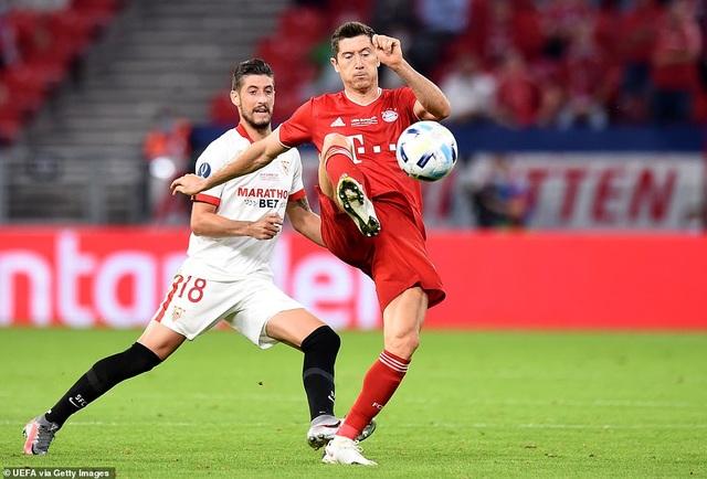 Ngược dòng hạ Sevilla, Bayern Munich giành Siêu Cup châu Âu - 2