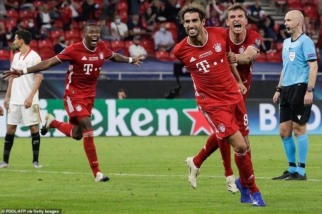 Ngược dòng hạ Sevilla, Bayern Munich giành Siêu Cup châu Âu - 11