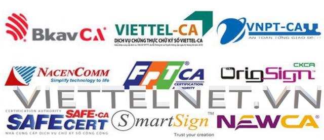 Chữ ký số Viettel, Viettel-CA - Đơn vị đồng hành cùng mọi nhà - 1
