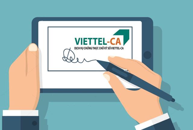 Chữ ký số Viettel, Viettel-CA - Đơn vị đồng hành cùng mọi nhà - 3