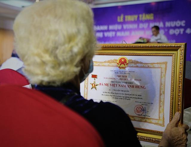 TPHCM: Truy tặng 41 danh hiệu Bà mẹ Việt Nam anh hùng - 4