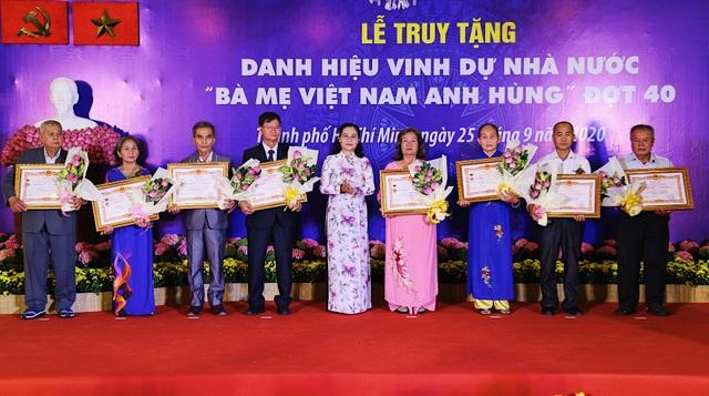TPHCM: Truy tặng 41 danh hiệu Bà mẹ Việt Nam anh hùng - 7