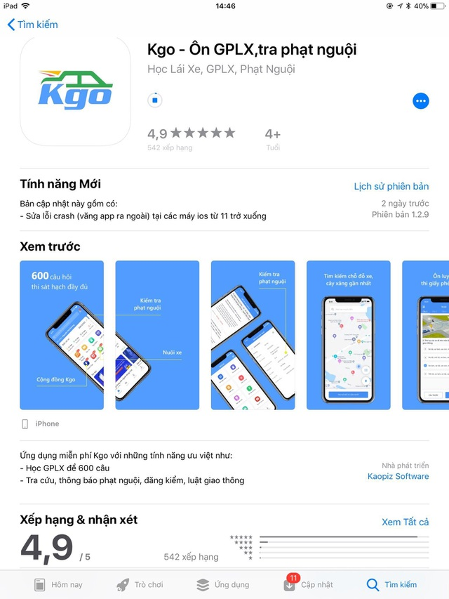Ứng dụng Kgo - Am hiểu người dùng, ngại gì thử thách! - 4