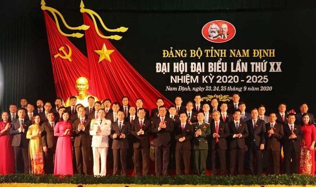 Bế mạc Đại hội đại biểu Đảng bộ tỉnh Nam Định lần thứ XX - 3