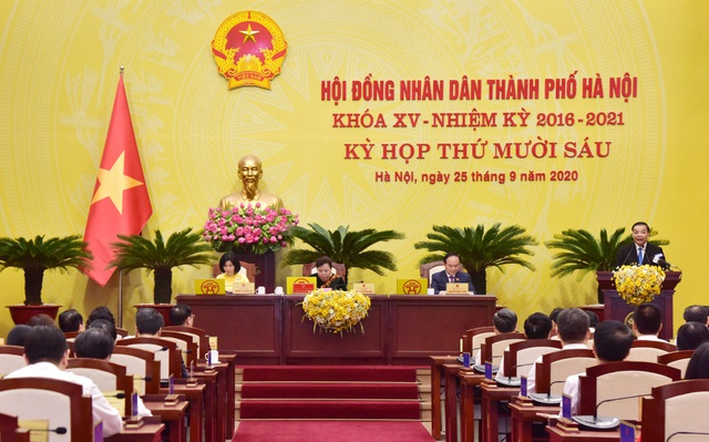 Ông Chu Ngọc Anh được bầu làm Chủ tịch UBND TP Hà Nội - 1