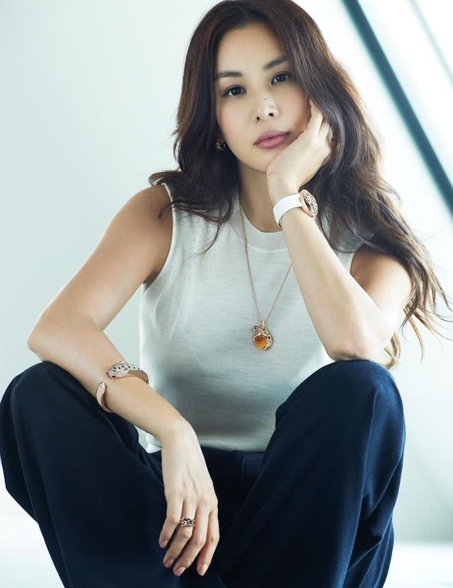 """""""Bà xã"""" xinh đẹp, giàu có và tài năng của Jang Dong Gun - 7"""