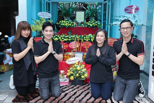Quang Hà, Nguyễn Hồng Nhung cúng Tổ sân khấu sớm - 2