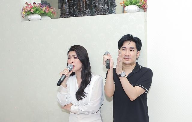 Quang Hà, Nguyễn Hồng Nhung cúng Tổ sân khấu sớm - 4