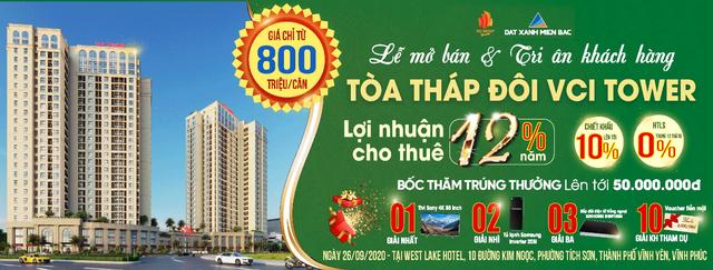 VCI Tower Vĩnh Yên - Tòa căn hộ cao cấp chính thức mở bán tới khách hàng - 1
