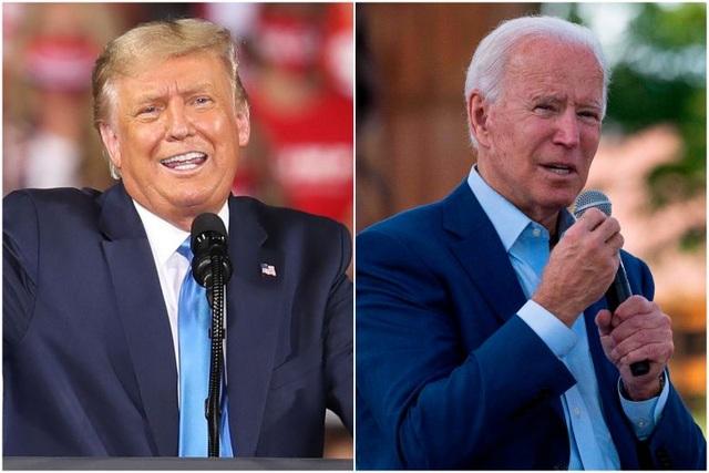 Bầu cử Mỹ 2020: Ông Trump thu hẹp cách biệt với ông Biden - 1
