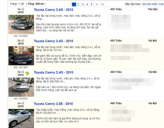 Xe sang cũ, mới đồng loạt hạ giá: Hết thời làm giá, quay về vét khách xe cỏ - 9