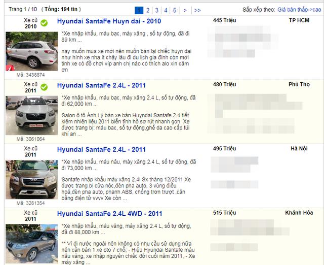 Xe sang cũ, mới đồng loạt hạ giá: Hết thời làm giá, quay về vét khách xe cỏ - 7