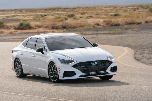 Hyundai Sonata 2021 có thêm phiên bản tính năng vận hành cao N-Line - 5