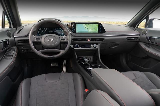 Hyundai Sonata 2021 có thêm phiên bản tính năng vận hành cao N-Line - 3