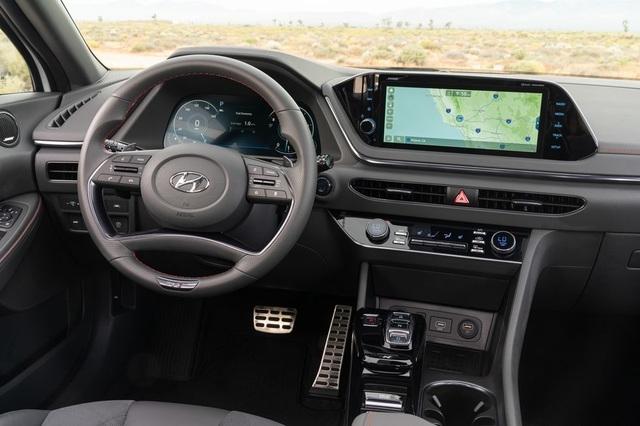 Hyundai Sonata 2021 có thêm phiên bản tính năng vận hành cao N-Line - 18