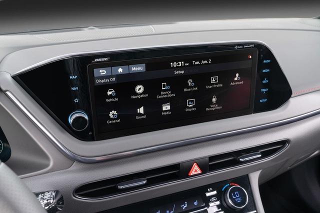 Hyundai Sonata 2021 có thêm phiên bản tính năng vận hành cao N-Line - 21